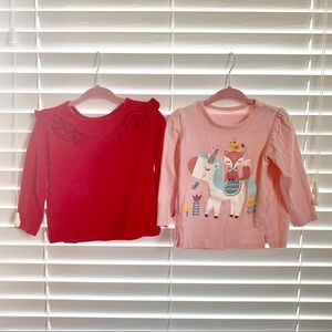 Other - 💗♥️ set of 2 12-18m tops ♥️💗